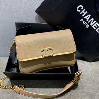 Chanel Sling Khaki