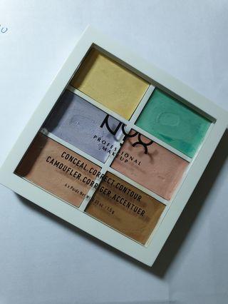 🚚 nyx 校色盤 #半價美妝拍賣會