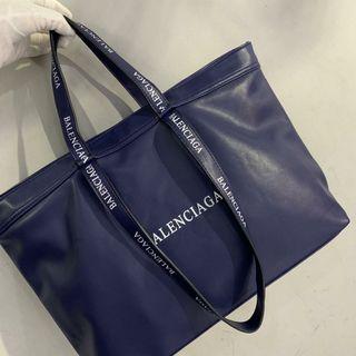 Balenciaga Mode Tote Bag Blue