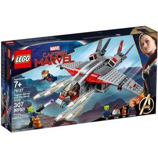 🚚 LEGO Marvel: Captain Marvel and The Skrull Attack