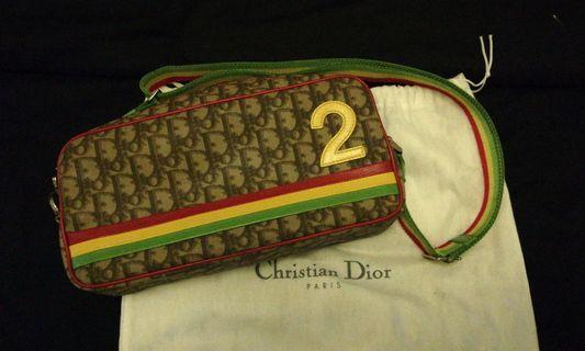 🚚 Christian Dior Rasta Monogram Sling