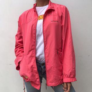 Bright pink sport jacket