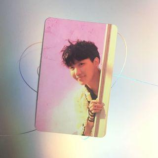 Official BTS LY Answer E Version Photocard