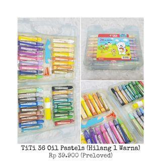 TiTi 36 Oils Pastels