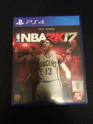 PS4 2K17 好新 少玩