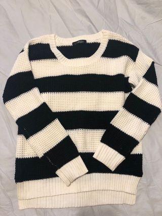 🚚 日本🇯🇵購入橫條毛衣