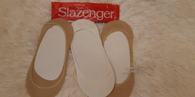 Slazenger Ladies Invisible Socks