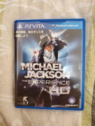 Sony PS Vita Michael Jackson