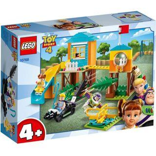 🚚 LEGO Toy Story 4: Adventures of Buzz and Boo Peep on Playground