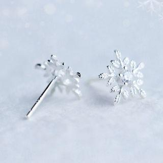 🚚 Winter is coming stud earrings - Korean - Minimalist - S925 - Sterling Silver