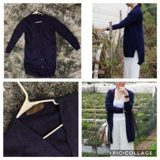 Classified thick fabric (Dark Blue and Beige) worn in Baguio only- Fits XS-S