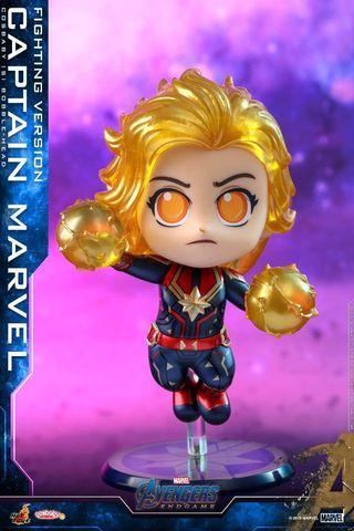 原價出售全新 Captain marvel cosbaby,  endgame 版本