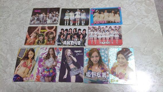AKB48 yes card