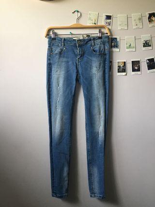 skinny jeans size 25