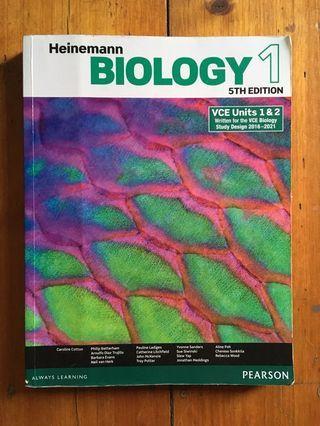 VCE Biology Units 1&2