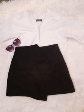 Pre-Loved Long Sleeve Blouse (White)