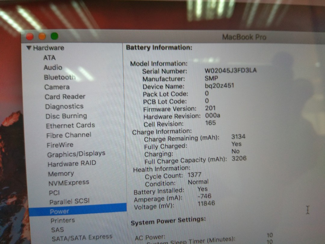 2011 MacBook pro i5 2.3ghz 4gb 500gb hdd