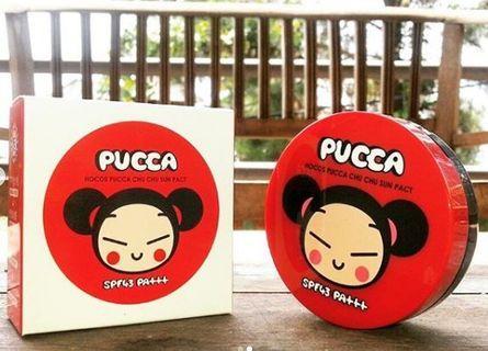 🌸韓國PUCCA 兒童高保濕按壓式防曬氣墊🌸