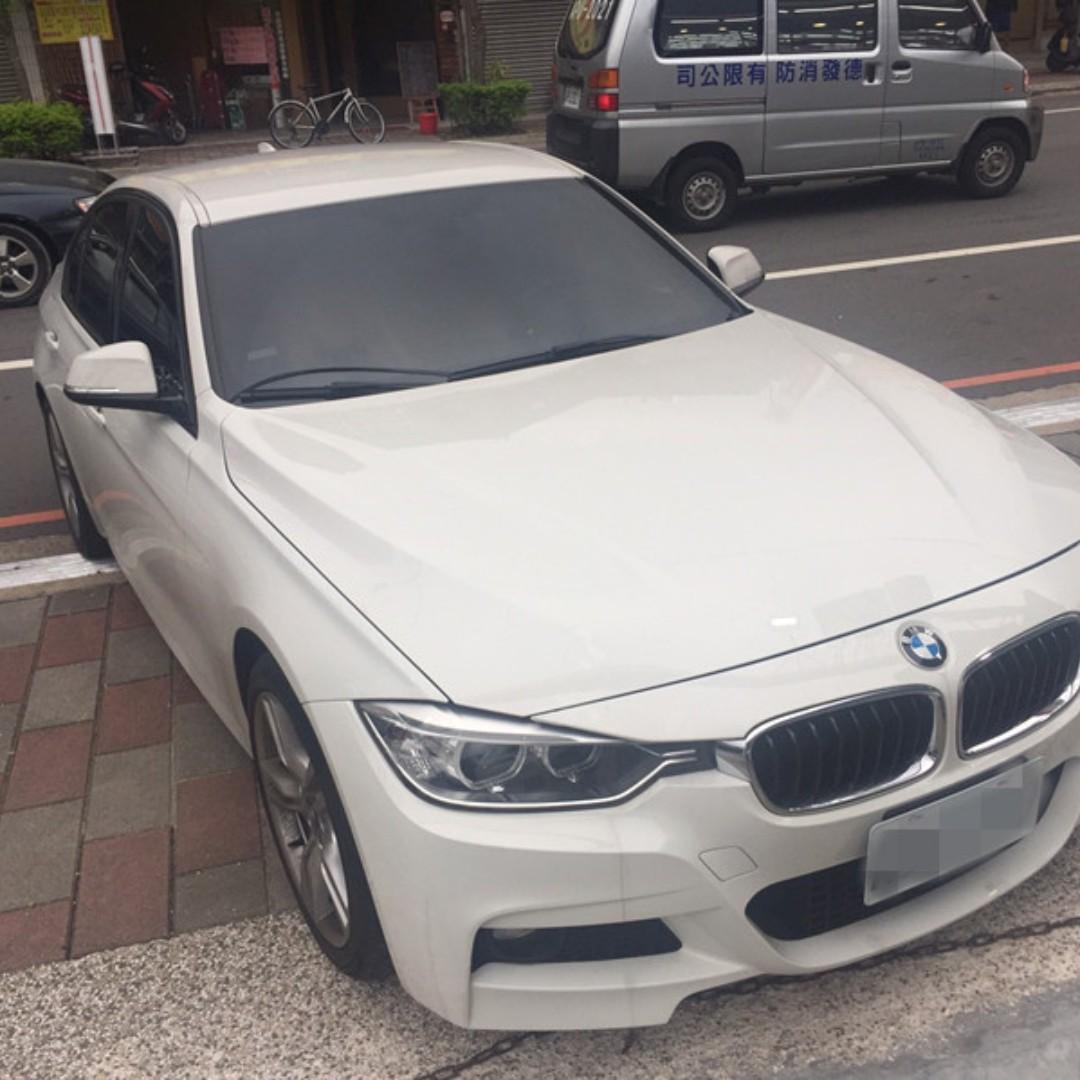 2013年 白 BMW 320I 跑8萬 預售10X萬