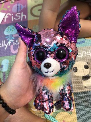 🚚 Sequin dog toy