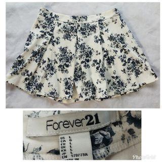 Forever 21 floral skirt 2304