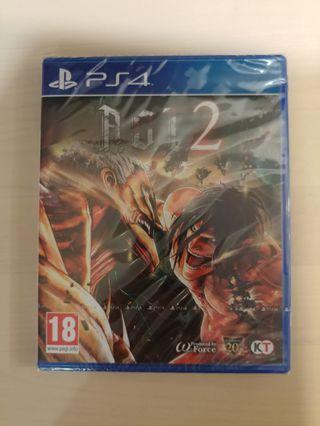 PS4 A.O.T. 2 (進撃之巨人2)