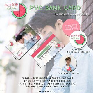 [WTS] NCT MARK LEE 마크수박nation🍉 PVC BANK CARD