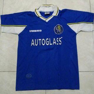 Kaos Bola Jersey Chelsea Retro 1997