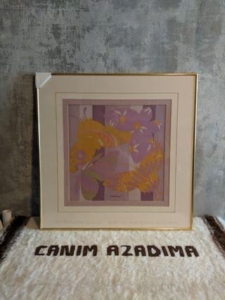 Salvatore Ferragamo Handkerchief Framed