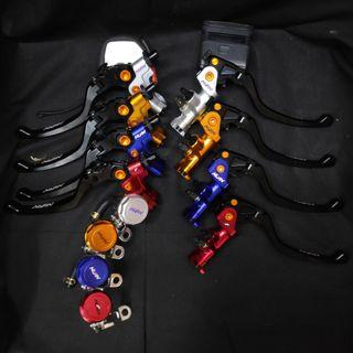 Full Chop Nissin Universal Brake Lever Set