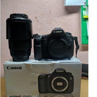 Jual Canon 60D (Bonus Lensa Tele)