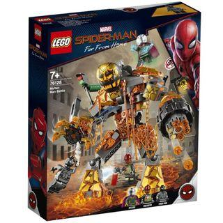🚚 LEGO Marvel Spiderman Far Away From Home: Molten Man Battle