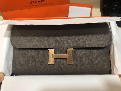 🚚 Authentic Hermes Constance Long wallet