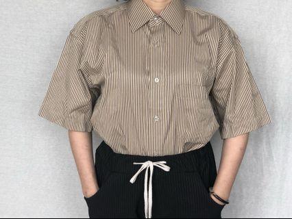 🚚 復古直紋襯衫