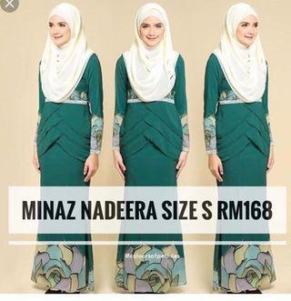 MINAZ nadeera (baju kurung)