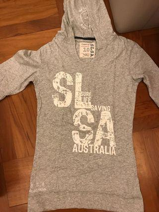 Surf Life Australia Top with mid sleeves