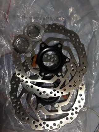🚚 160mm decs rotor center lock