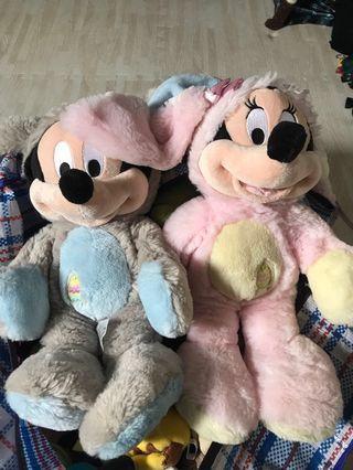 🚚 迪士尼 米奇米妮 復活節 限定 娃娃