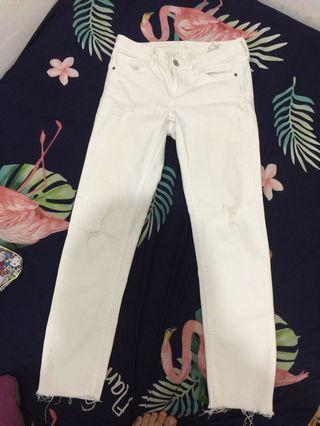 White Jeans Zara Original