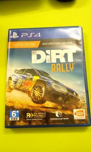 PS4 Game 遊戲 Dirt Rally 英文版