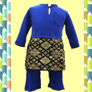 🍼BAJU KURUNG BABY BOY #babies #boys #kurung #kurong #samping #songket #jumper #cute clozet #hari raya #jubah #peplum #kids #romper