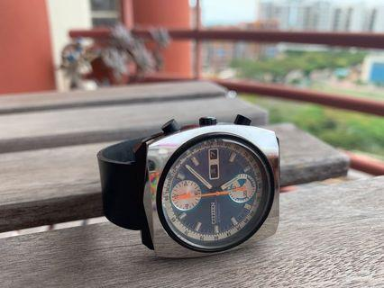 🚚 Citizen vintage mechanical chronograph