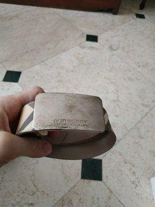 Burberry belt original