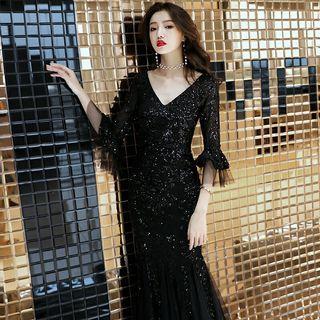 Black Lace Dress,  evening dress