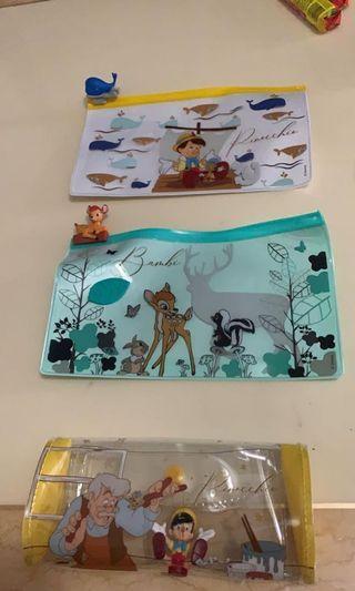 7-11 迪士尼 隨行袋 bambi 小木偶