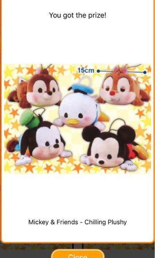 [TOREBA] Mickey & Friends - Chilling Plushy