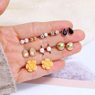 🚚 9 Pairs Earrings Wholesale
