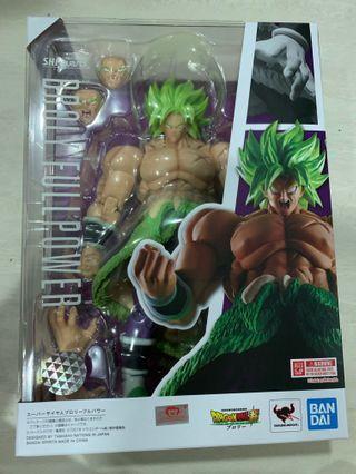 Bandai DragonBall Super S.H.Figuarts Super Saiyan Broly (Full Power) Asia version