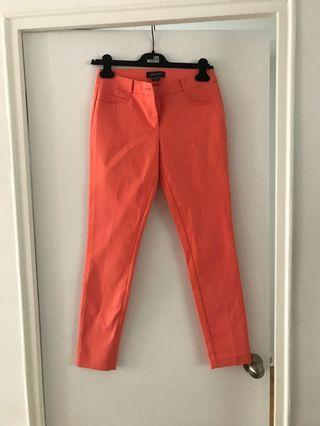 Marciano peach mid rise pants