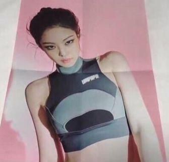 WTB JENNIE POSTER BLACKPINK KILL THIS LOVE ALBUM